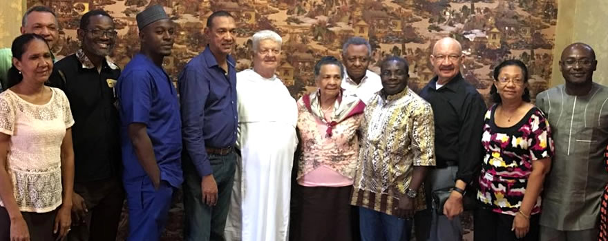 Send Forth: Bro. Stephen OP, Pastor Felix OP, a Dominican Friar & Members of Murray-Bruce Family