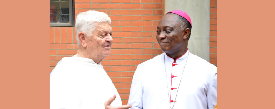 Send Forth: Brother Stephen Lucas, OP and the Archbishop of Lagos (His Grace, Most Rev. Adewale Martins , DD)
