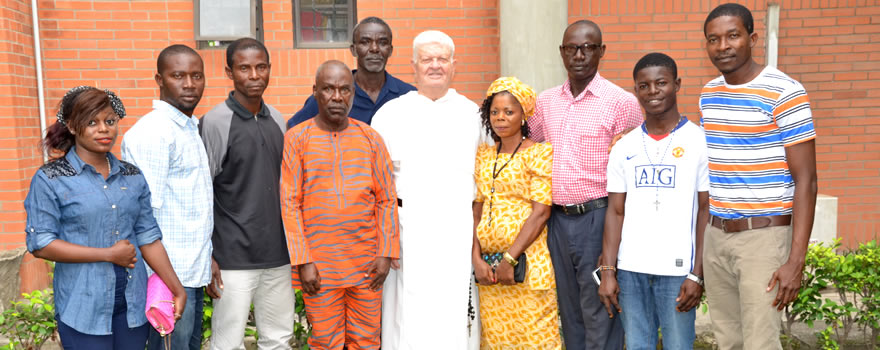 Send Forth Celebration: Bro. Stephen OP and members of Our Lady of Tarkwa-Bay