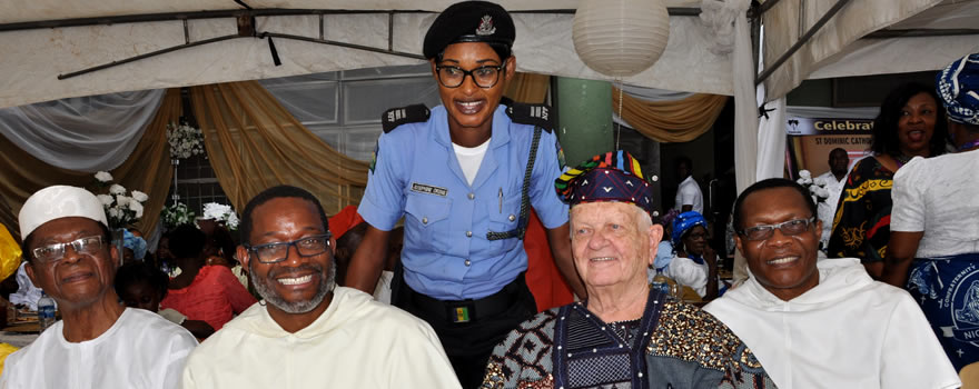 Send Forth Celebration: Sup. Josephine Okeme visits Brother Stephen, OP